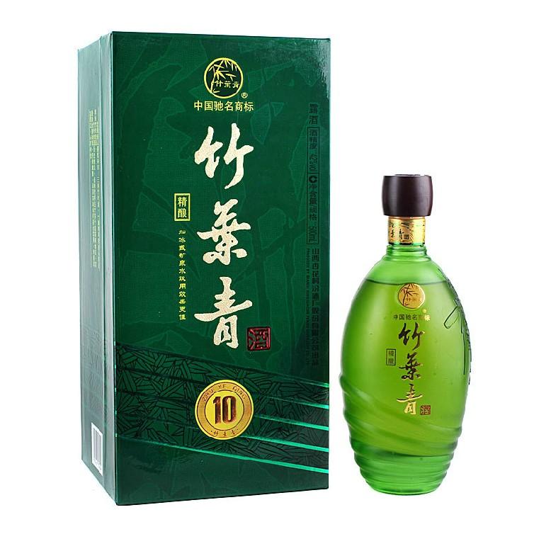 汾酒42度竹叶青酒十年陈酿精酿竹叶青酒500ml