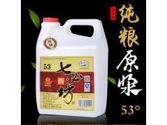 汾酒产地壶装七必坊白酒53度2.5L杏花纯粮酿造原浆-- 杏花村酒网