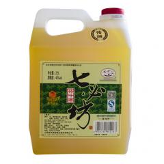 七必坊 山西汾酒产地杏花村镇40度2.5L 5斤装散装桶装白酒 老传统竹叶酒单瓶装
