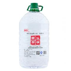 杏花村清香型纯粮食老酒高粱酒泡药酒汾酒产地桶装散装原浆白酒53度5L约10斤--