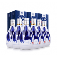 汾酒 青花20 53度 375ml*6瓶 整箱装