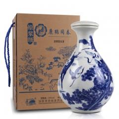 53度3斤鹿鹤同春礼盒大坛粮食酿造原浆酒国产白酒--