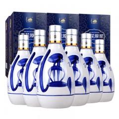 青花原浆酒53度500mlX6礼盒高度国产白酒整箱特价--